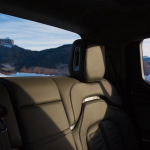 2020 Rivian R1S Leather back seats