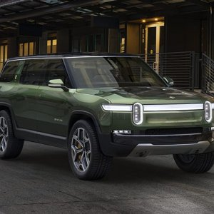 2020 Rivian R1S night shot