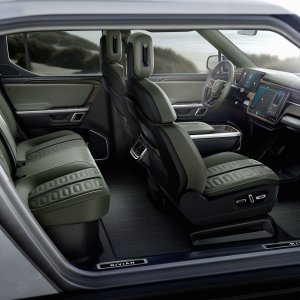 2020 Rivian R1S interior showcase