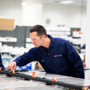Rivian Battery Lab
